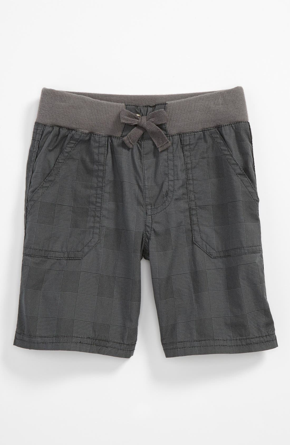 Alternate Image 1 Selected - Pumpkin Patch Check Shorts (Toddler)