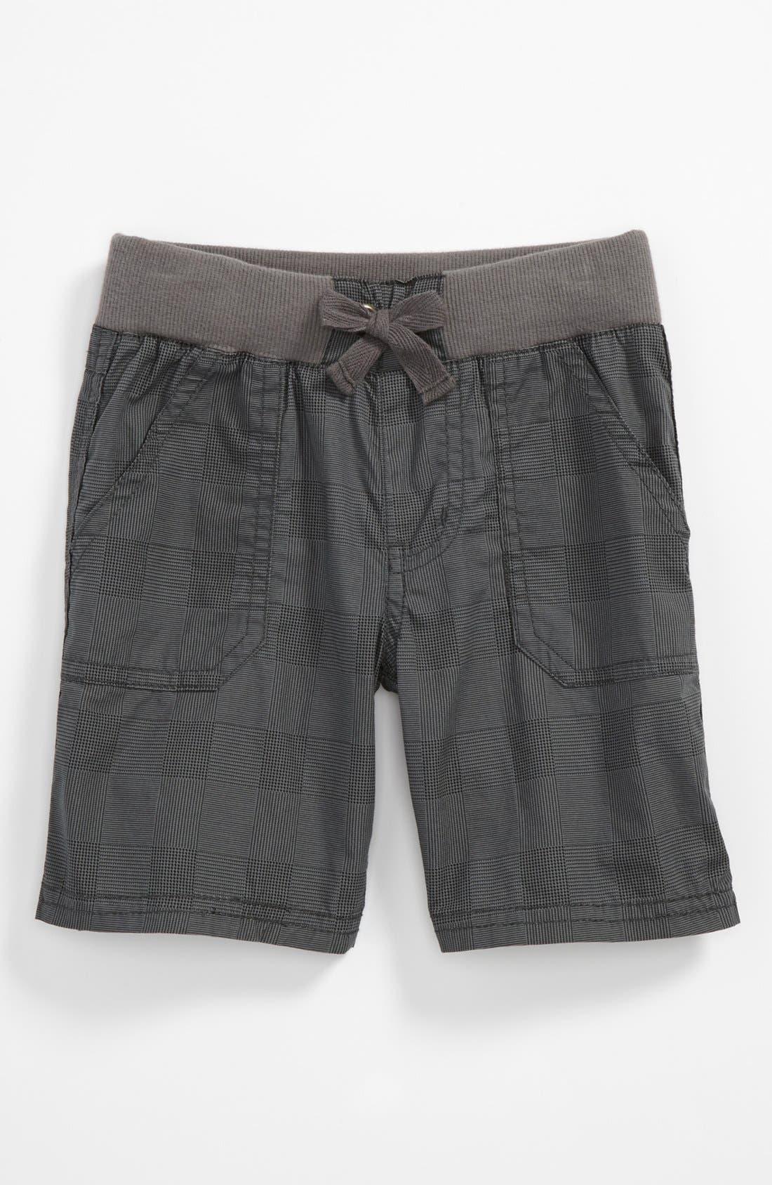 Main Image - Pumpkin Patch Check Shorts (Toddler)