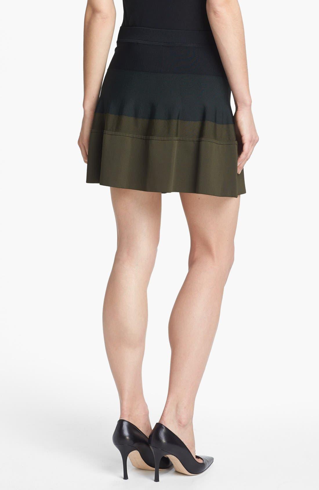 Alternate Image 2  - A.L.C. 'Natalia' Colorblock Skirt