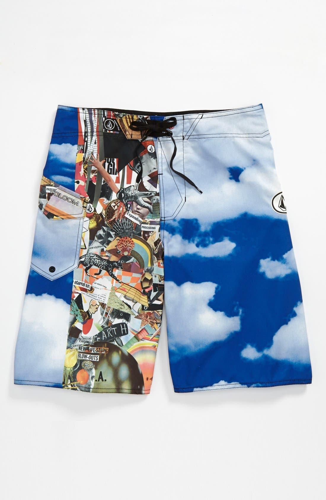 Alternate Image 1 Selected - Volcom 'Barter' Board Shorts (Big Boys)