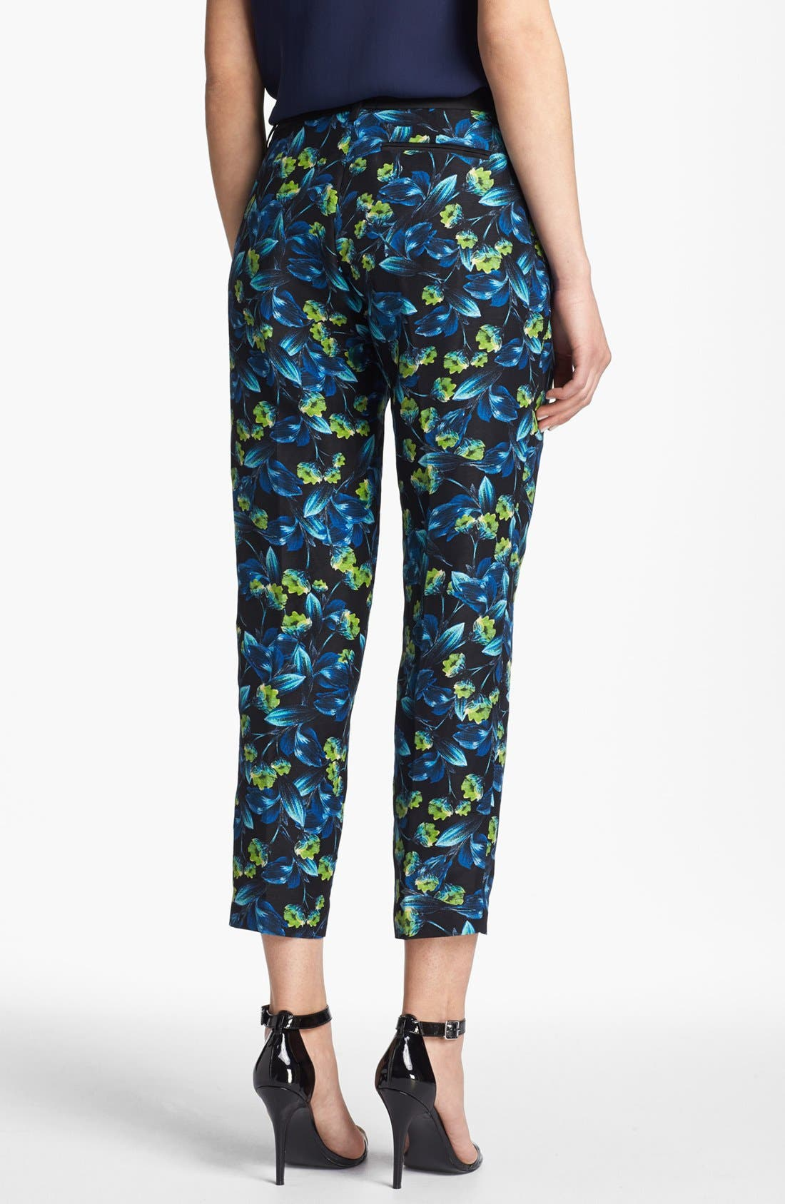Alternate Image 2  - Joie 'Guioma' Linen & Silk Crop Pants