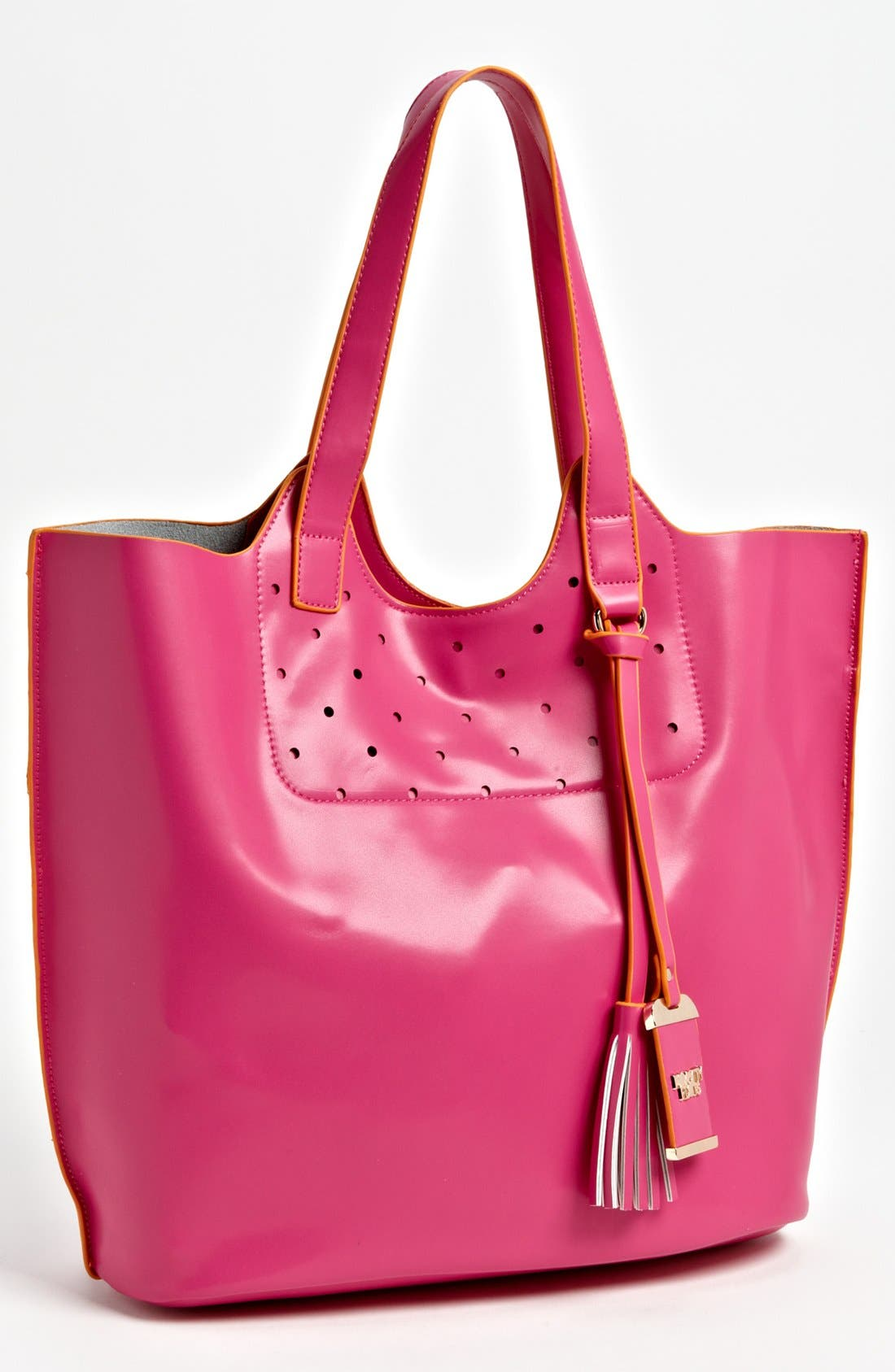 Alternate Image 1 Selected - POVERTY FLATS by rian 'Colorful' Faux Leather Tote