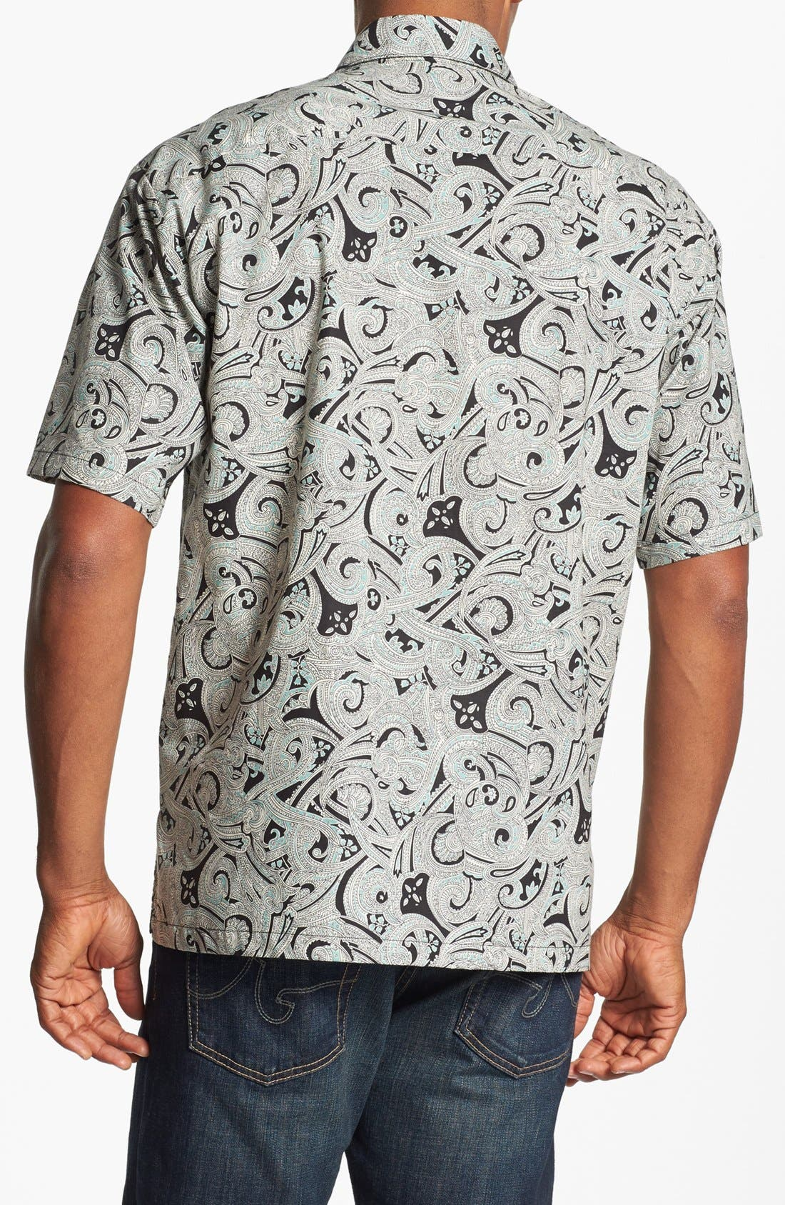 Alternate Image 2  - Tori Richard 'Clockwork' Short Sleeve Sport Shirt
