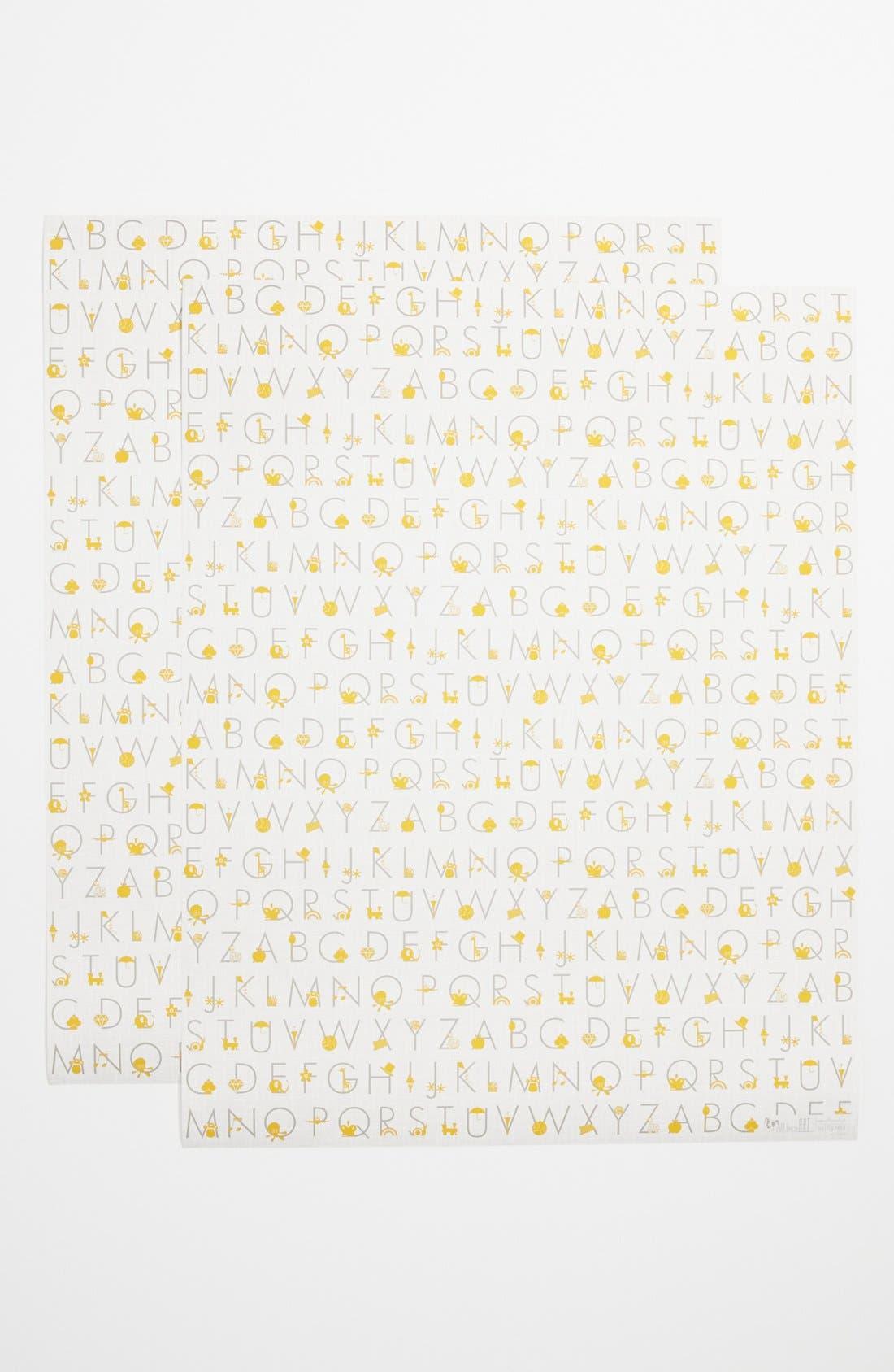 Main Image - Alphabet Gift Wrap