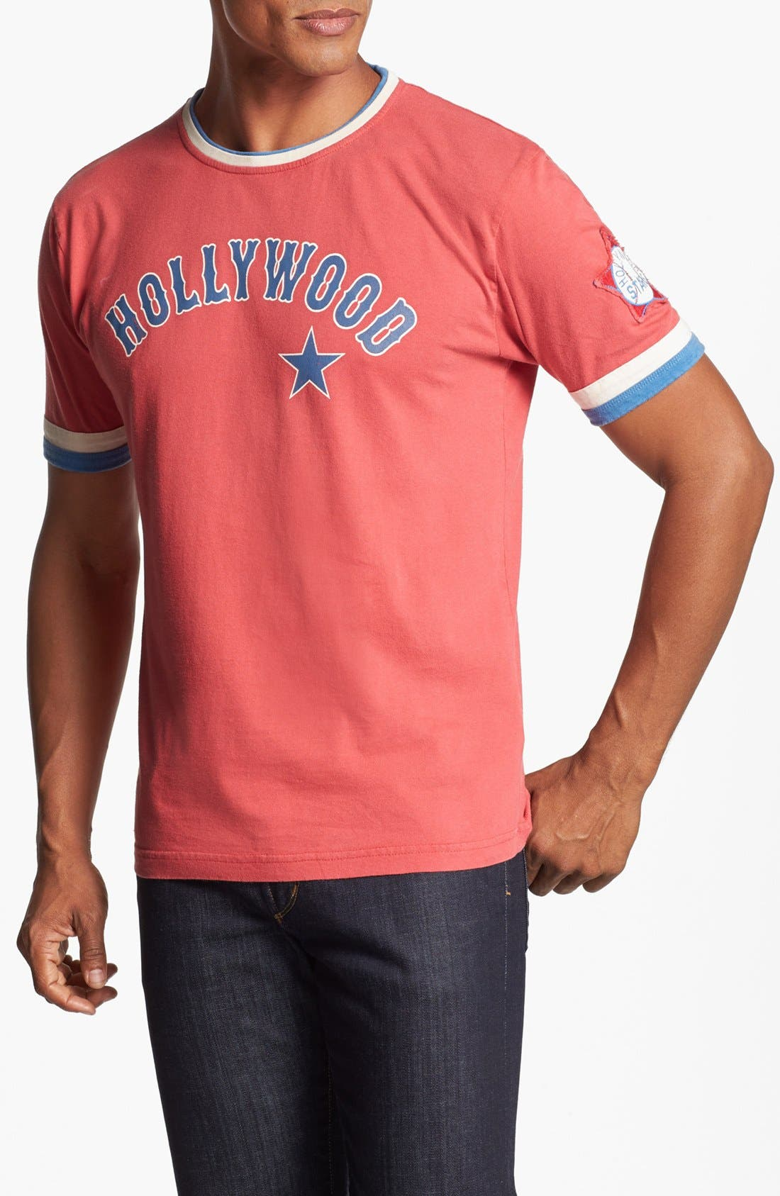 Alternate Image 1 Selected - Red Jacket 'Hollywood Stars - Remote Control' T-Shirt