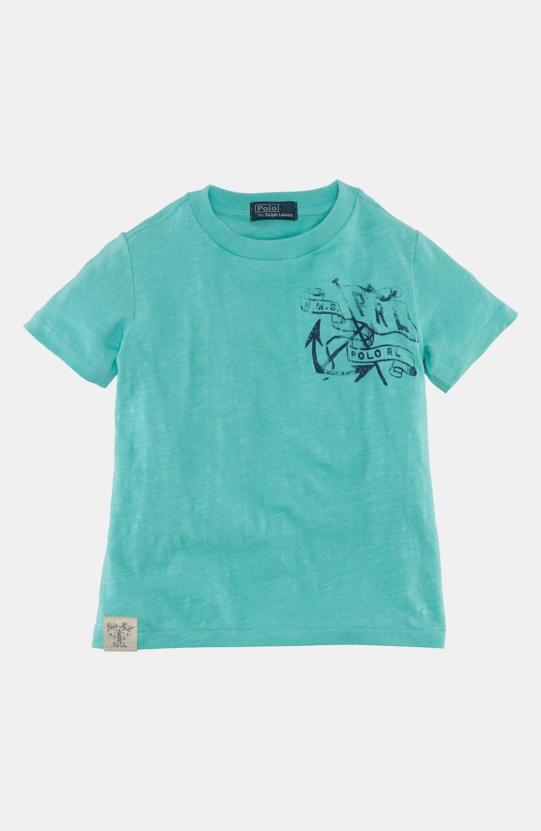 Alternate Image 1 Selected - Polo Ralph Lauren T-Shirt (Toddler Boys)