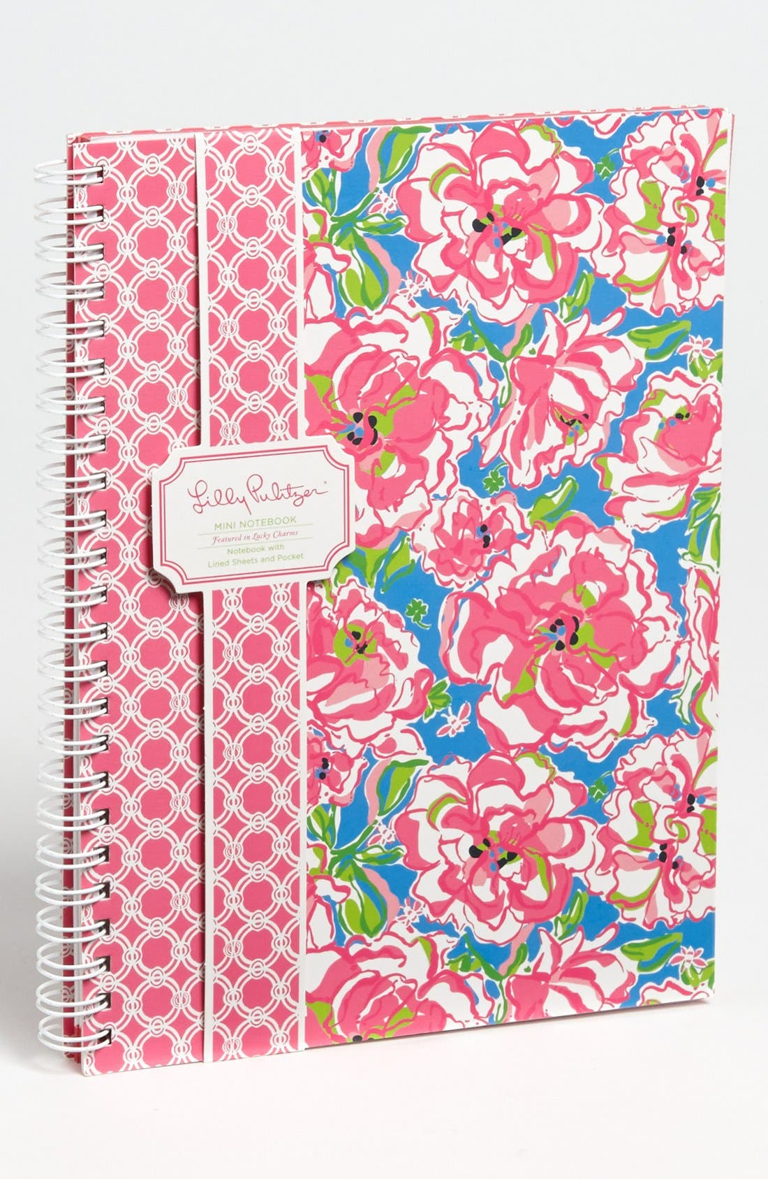 Main Image - Lilly Pulitzer® Floral Print Mini Notebook