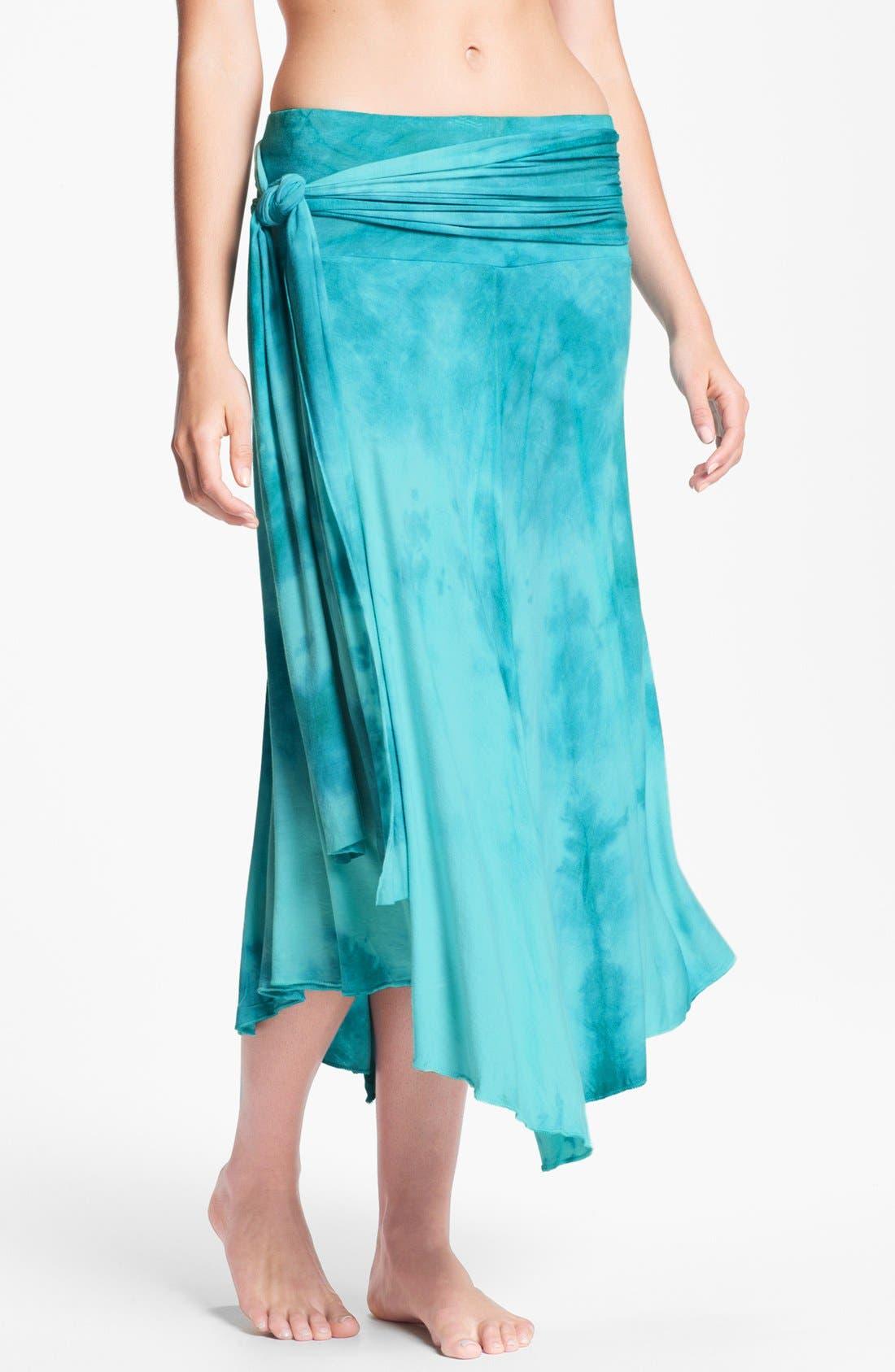 Alternate Image 2  - Elan Tie Dye Convertible Cover-Up Dress