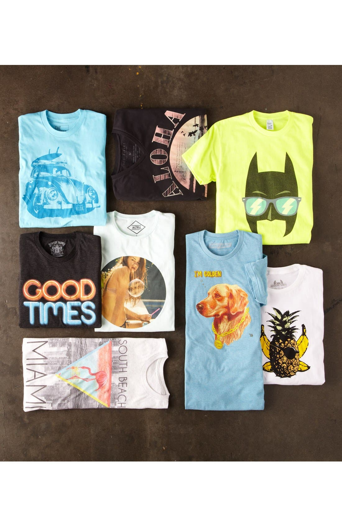 Alternate Image 4  - Bowery Supply 'Good Times' Graphic T-Shirt