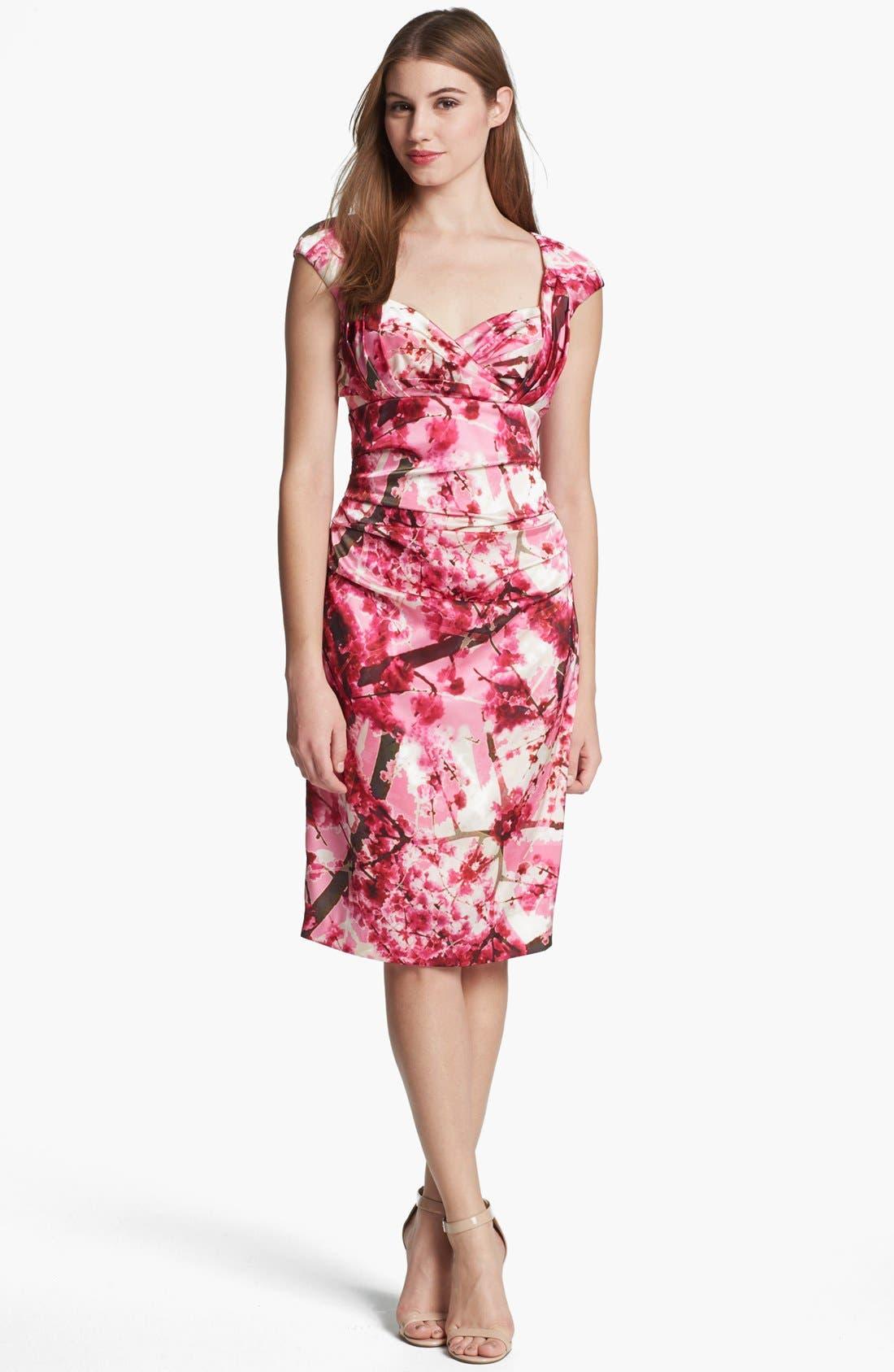 Alternate Image 1 Selected - Ivy & Blu Print Sheath Dress