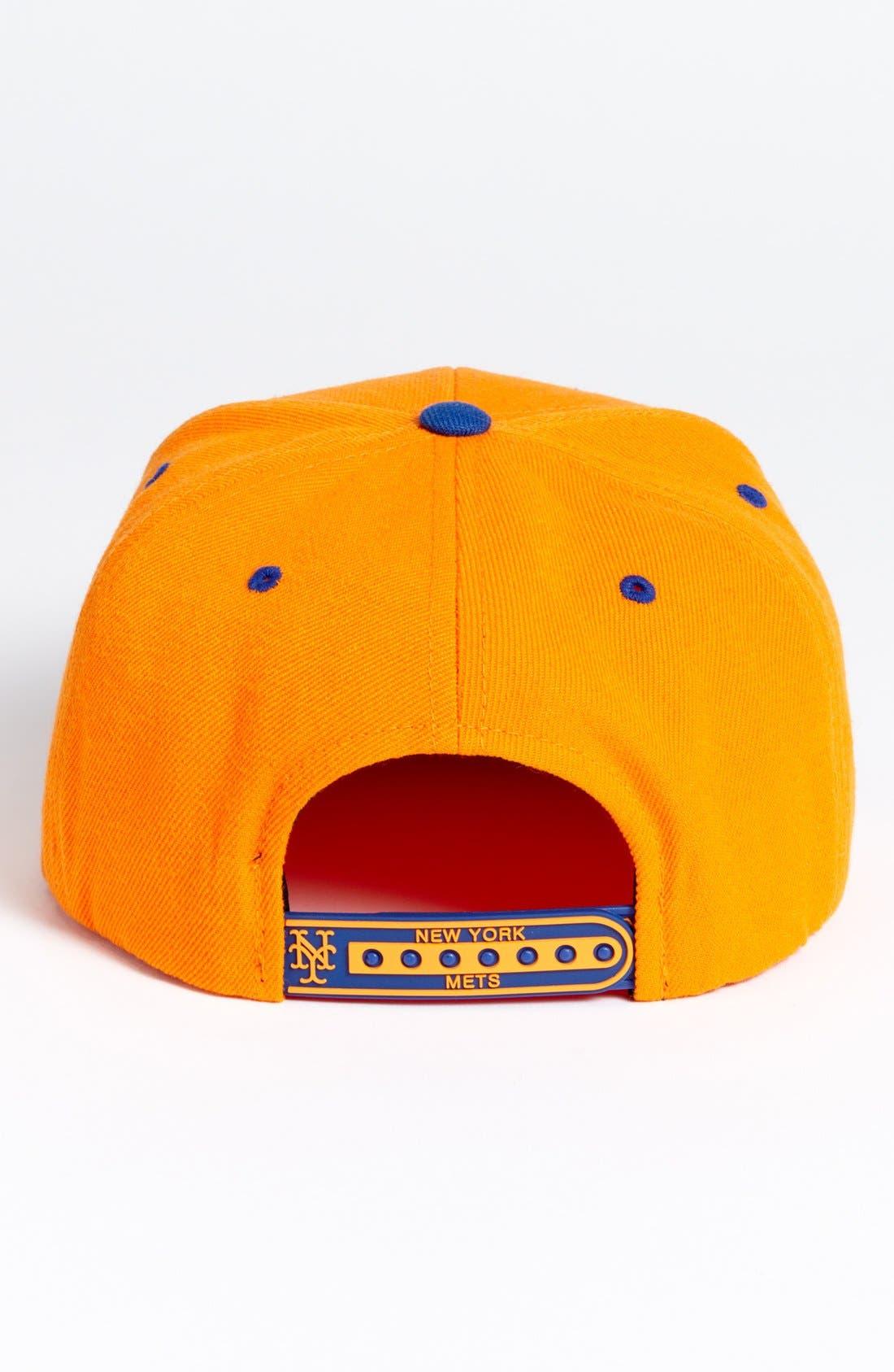 Alternate Image 2  - American Needle 'New York Mets - Back 2 Front' Snapback Baseball Cap