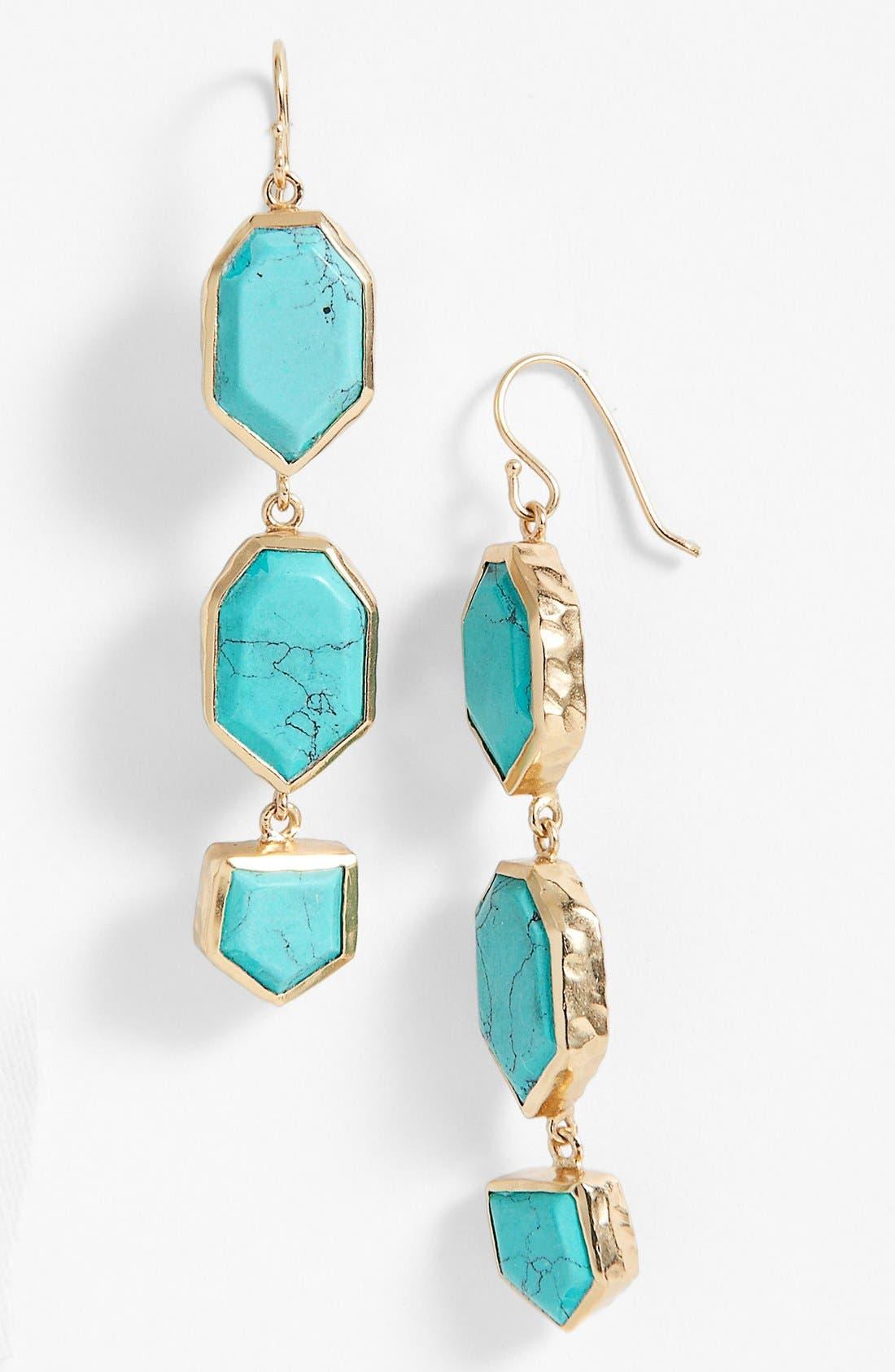 Alternate Image 1 Selected - Melinda Maria 'Saldana Slice' Drop Earrings