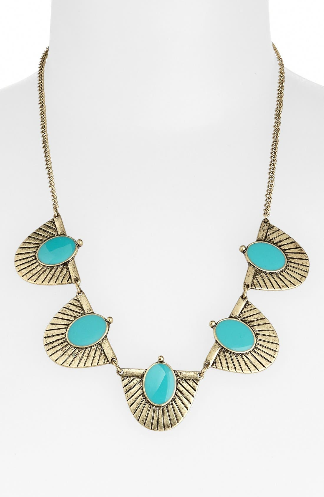 Alternate Image 1 Selected - Stephan & Co. 'Aztec' Statement Necklace