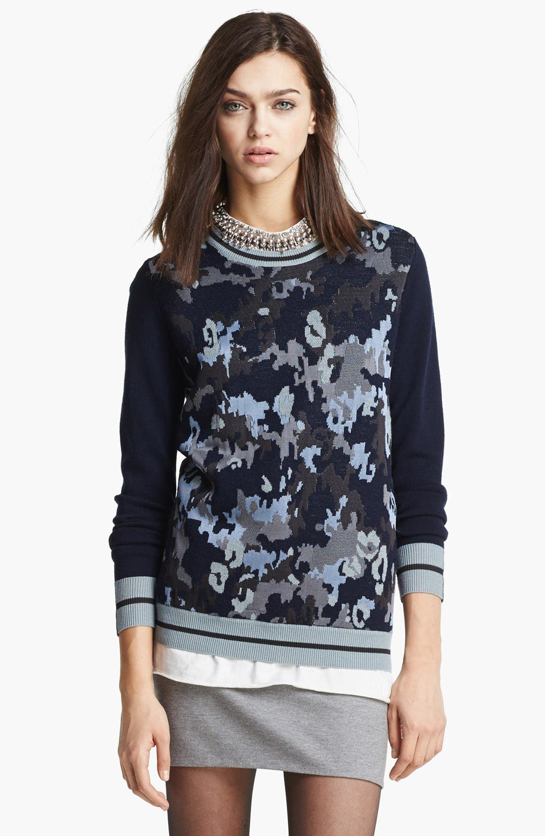 Alternate Image 1 Selected - 3.1 Phillip Lim Stripe Pullover
