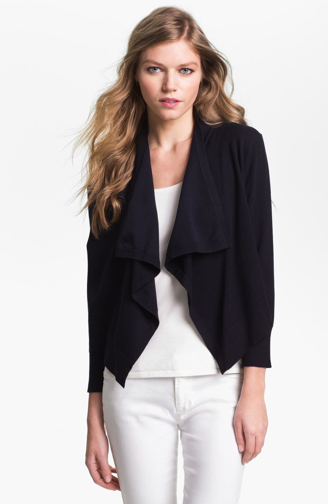 Alternate Image 1 Selected - MICHAEL Michael Kors Drape Front Shrug