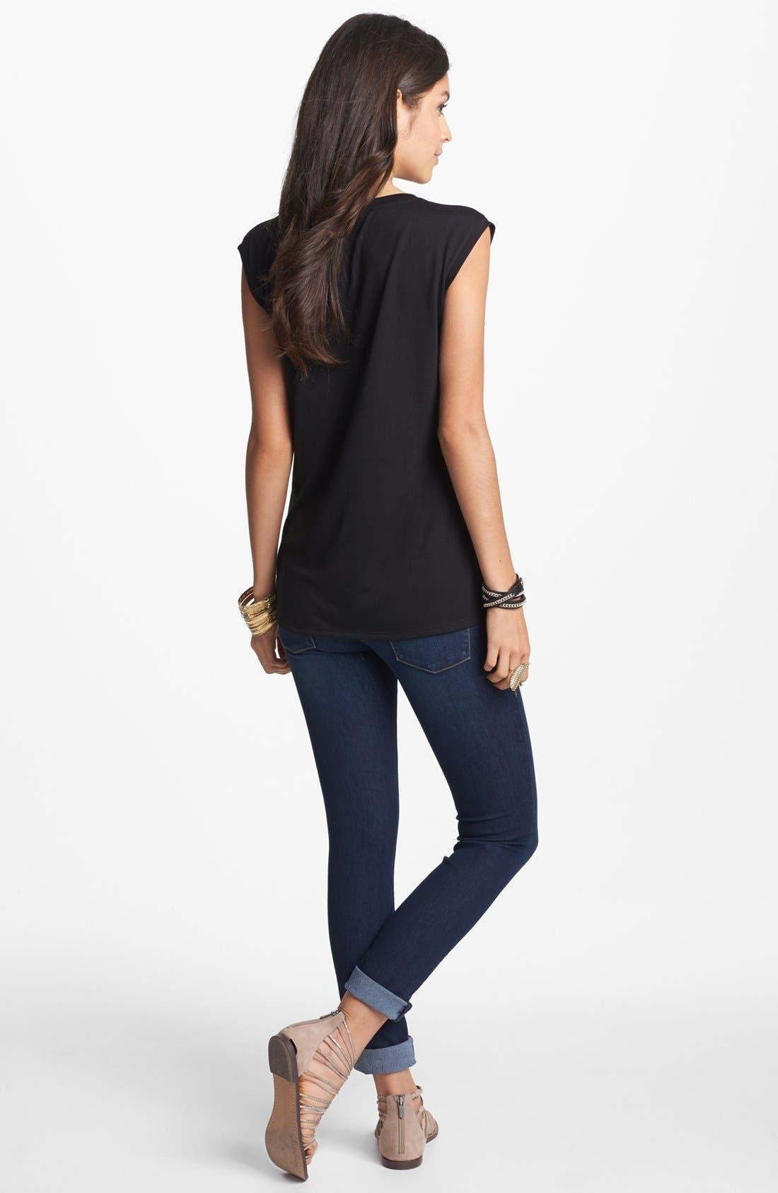 Alternate Image 2  - Articles of Society 'Mya' Skinny Jeans (Juniors)