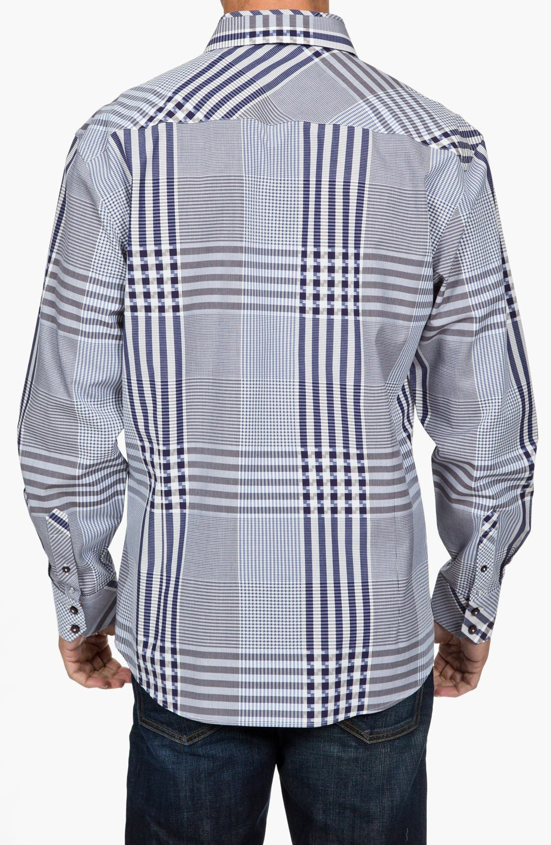 Alternate Image 3  - Zagiri 'Mans' Regular Fit Sport Shirt