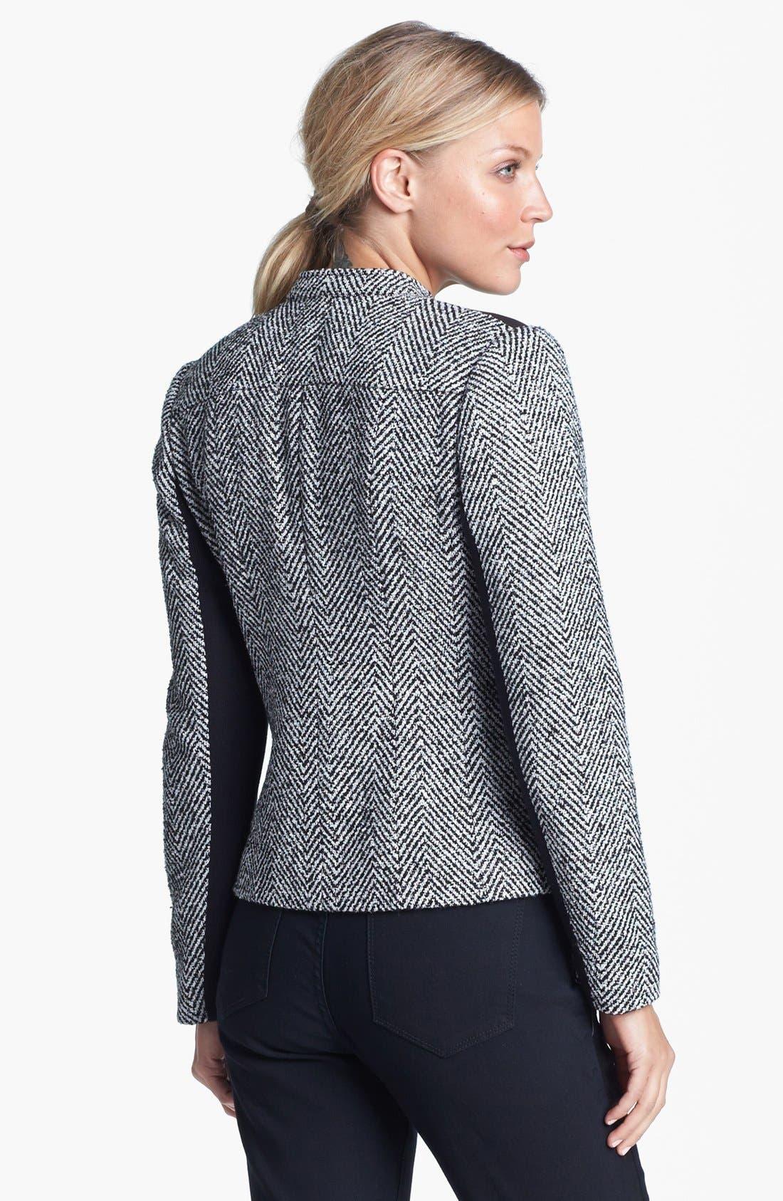 Alternate Image 4  - Amber Sun Tweed Moto Jacket