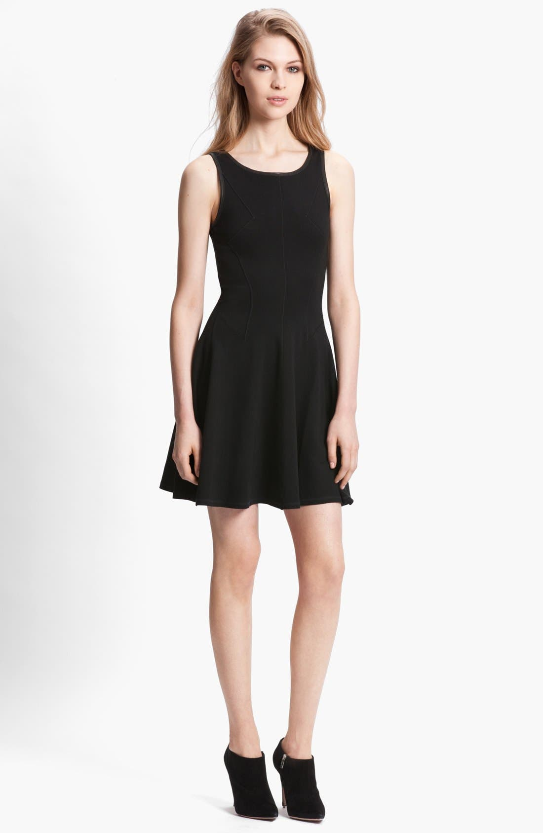Main Image - Faith Connexion Leather Detail Dress