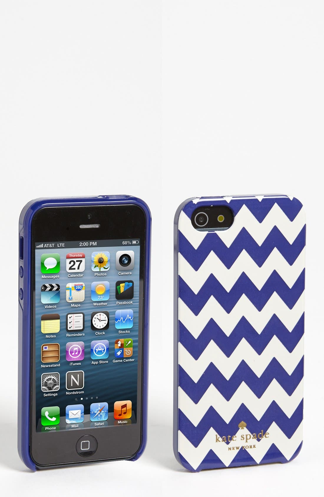 Alternate Image 1 Selected - kate spade new york 'mexican chevron' iPhone 5 & 5S case