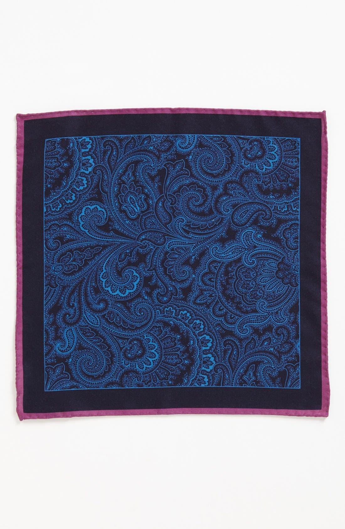 Alternate Image 2  - Ted Baker London Wool Blend Pocket Square