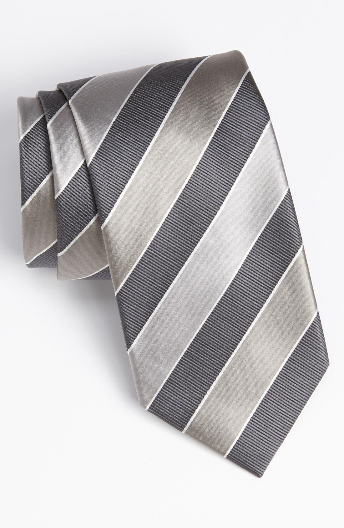 Main Image - David Donahue Woven Tie