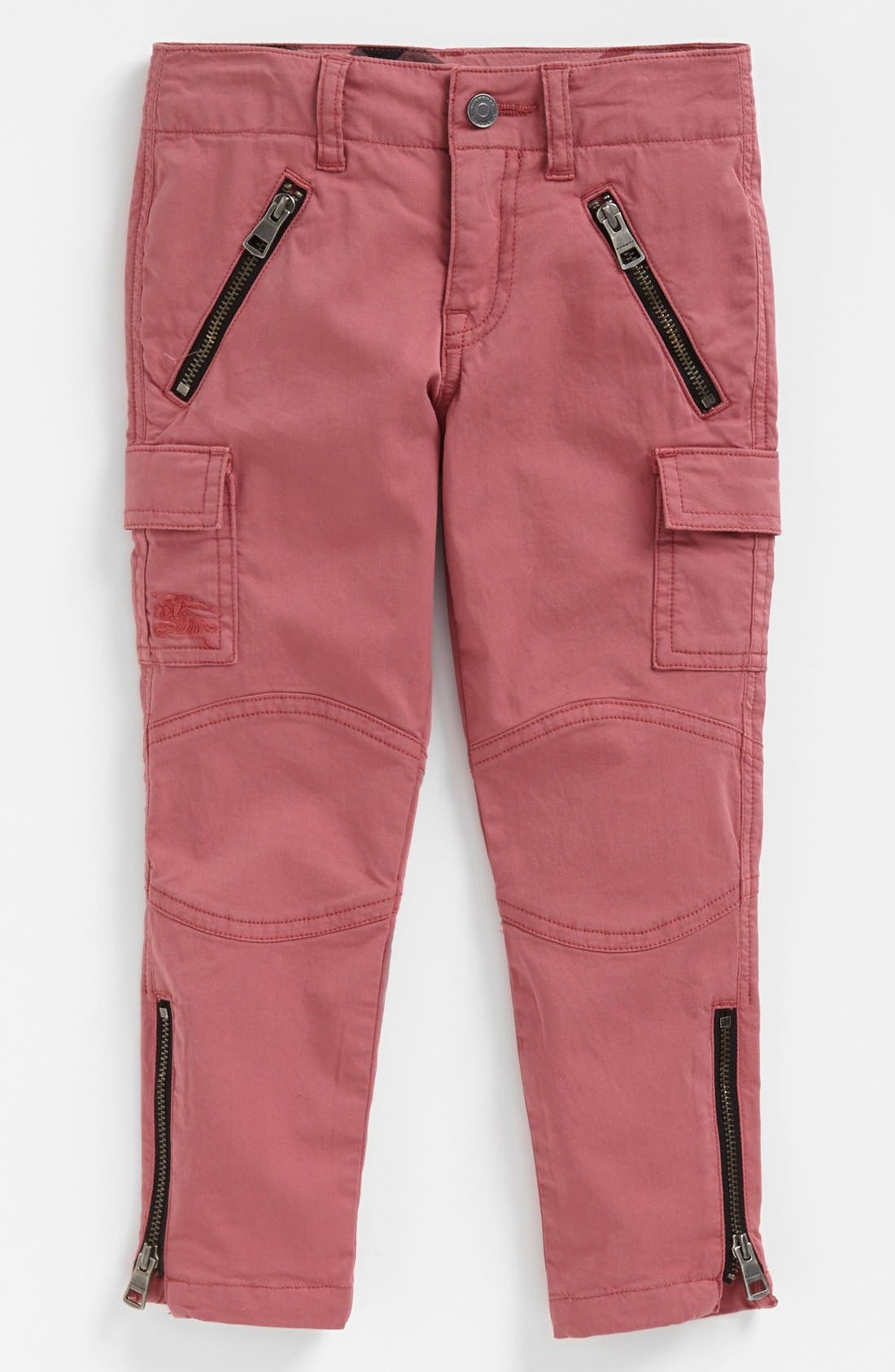 Alternate Image 1 Selected - Burberry Cargo Pants (Little Girls & Big Girls)