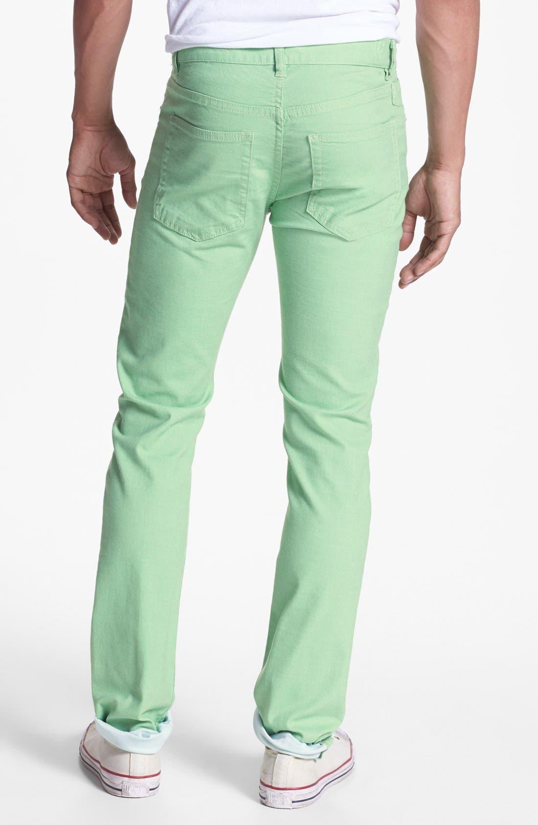 Alternate Image 2  - Williamsburg Garment Company 'S. 4th Street' Skinny Stretch Pants