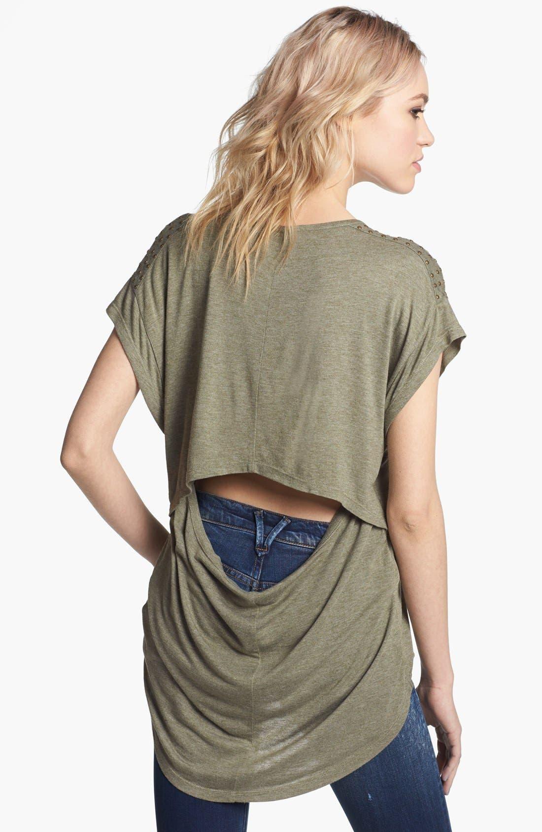 Alternate Image 2  - Trouvé Drape Back Tee