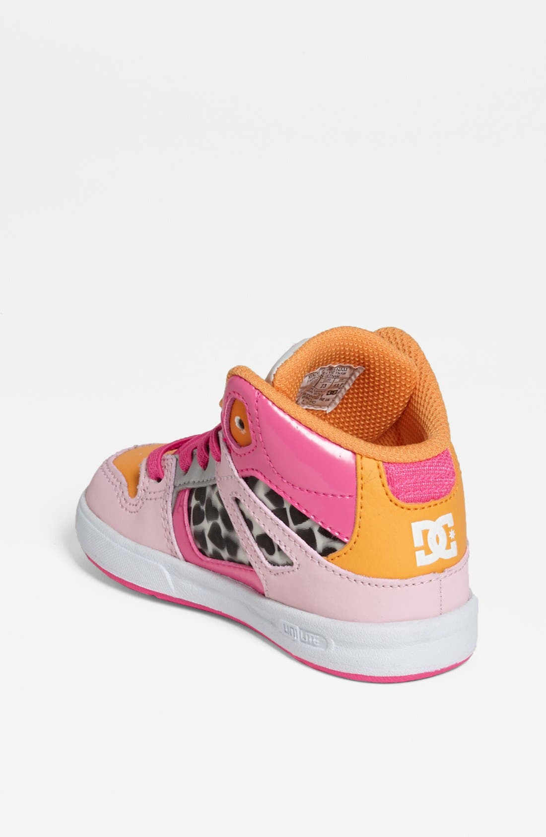 Alternate Image 2  - DC Shoes 'Rebound' Sneaker (Walker & Toddler)