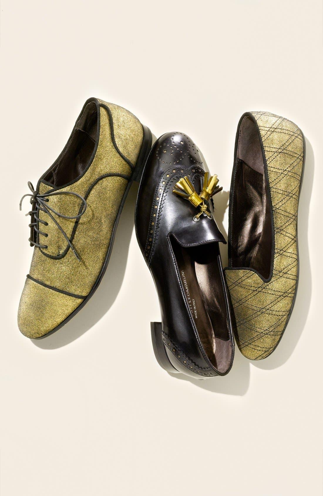 Alternate Image 5  - Attilio Giusti Leombruni 'Luxe Tie' Oxford