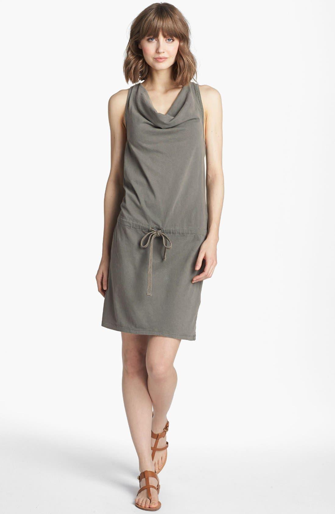 Alternate Image 1 Selected - James Perse Racerback Jersey Dress