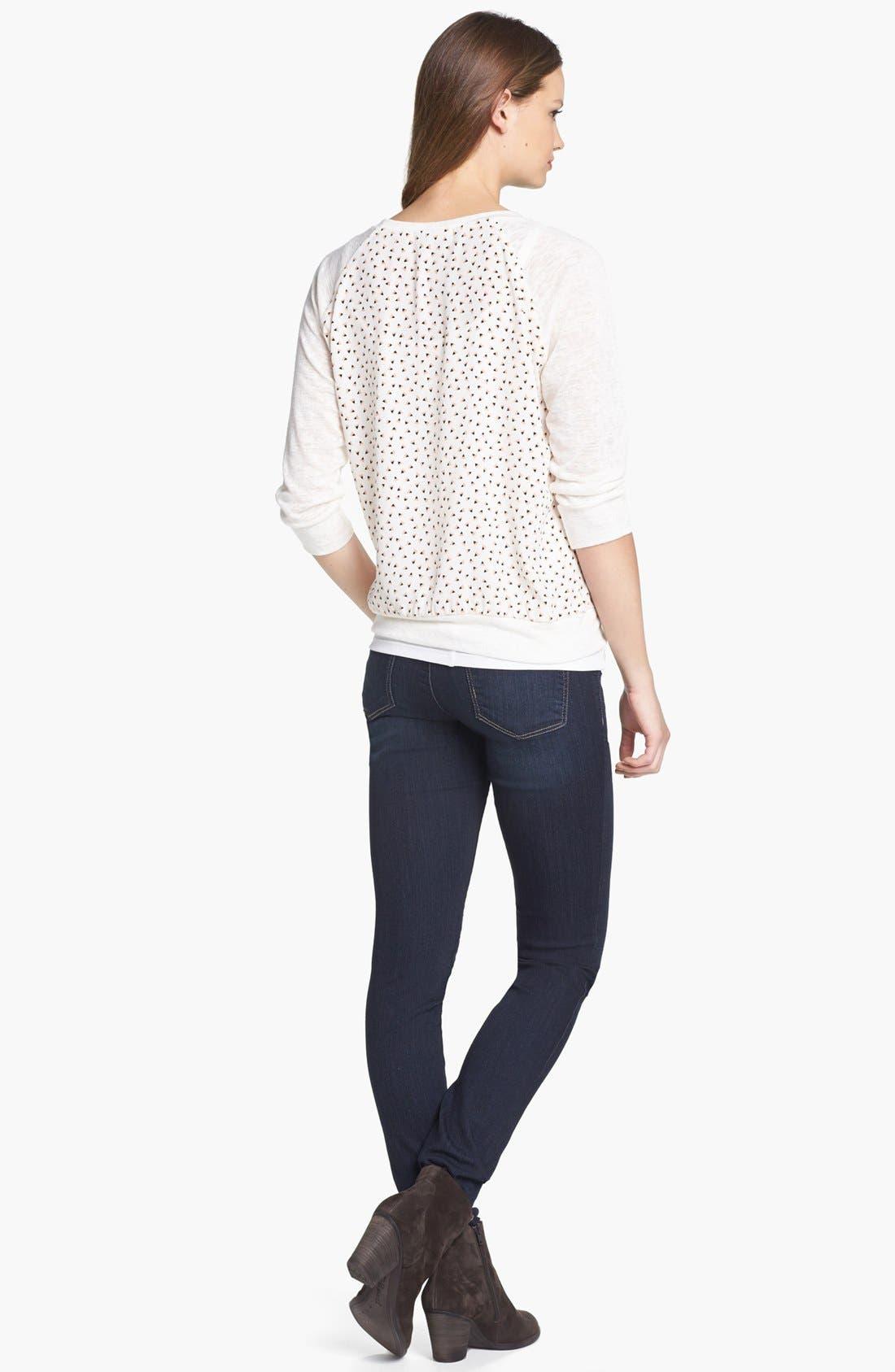 Alternate Image 4  - Wit & Wisdom Skinny Jeans (Indigo) (Nordstrom Exclusive)