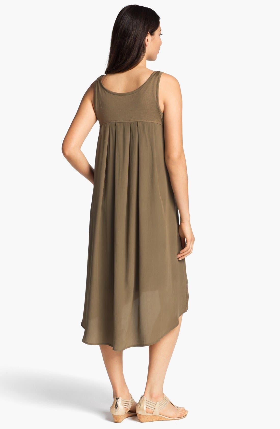 Alternate Image 2  - Eileen Fisher Scoop Neck Flared Dress