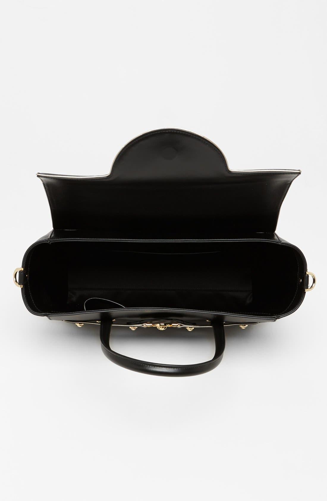 Alternate Image 2  - Versace Top Handle Leather Satchel