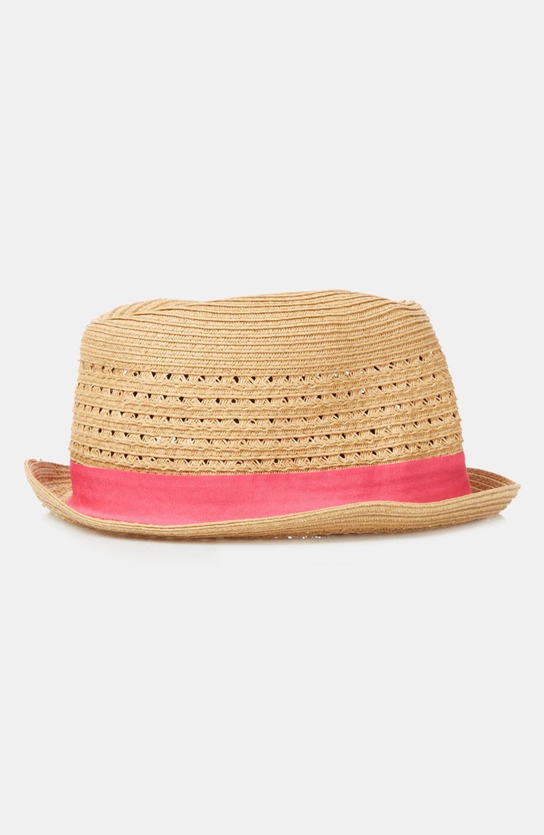 Alternate Image 1 Selected - Topshop Straw Trilby