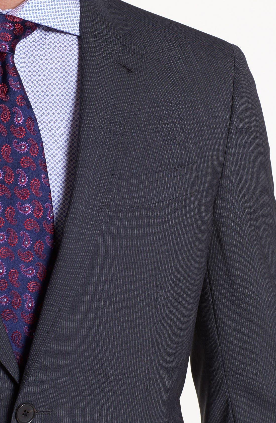 Alternate Image 2  - Ted Baker London 'Jim' Pinstripe Wool Suit