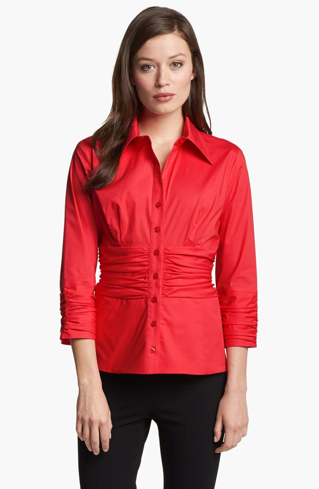 Alternate Image 1 Selected - Finley 'Marlon' Ruched Blouse
