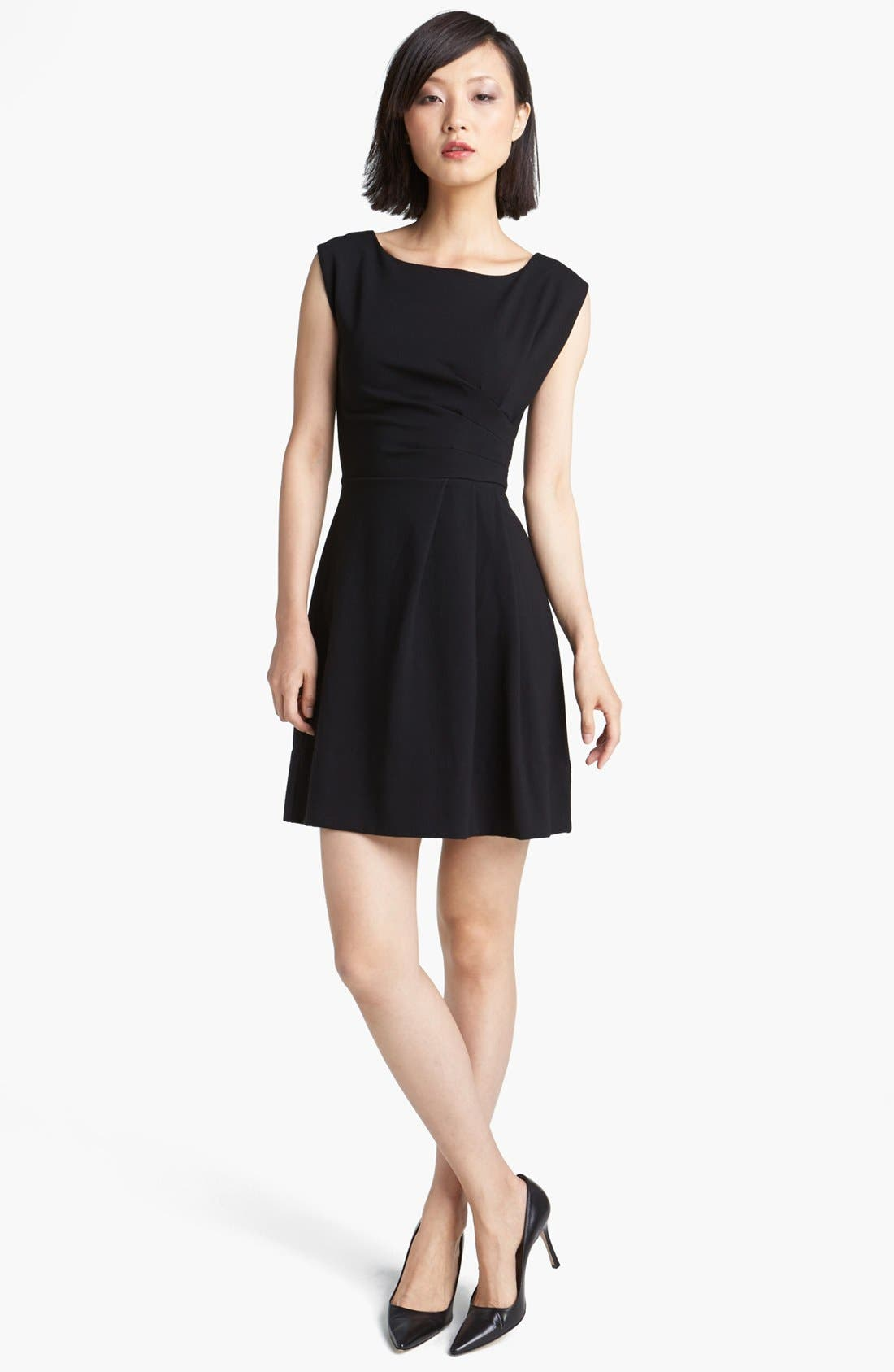 Alternate Image 1 Selected - MARC BY MARC JACOBS 'Sophia' Ponte Fit & Flare Dress