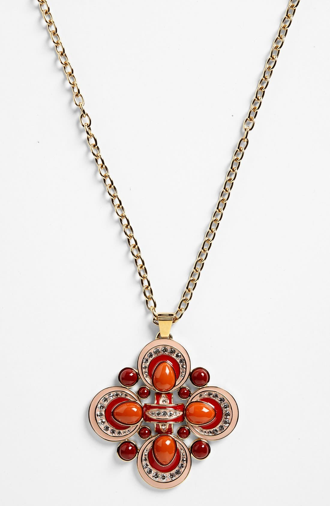 Main Image - Tory Burch 'Alia' Pendant Necklace