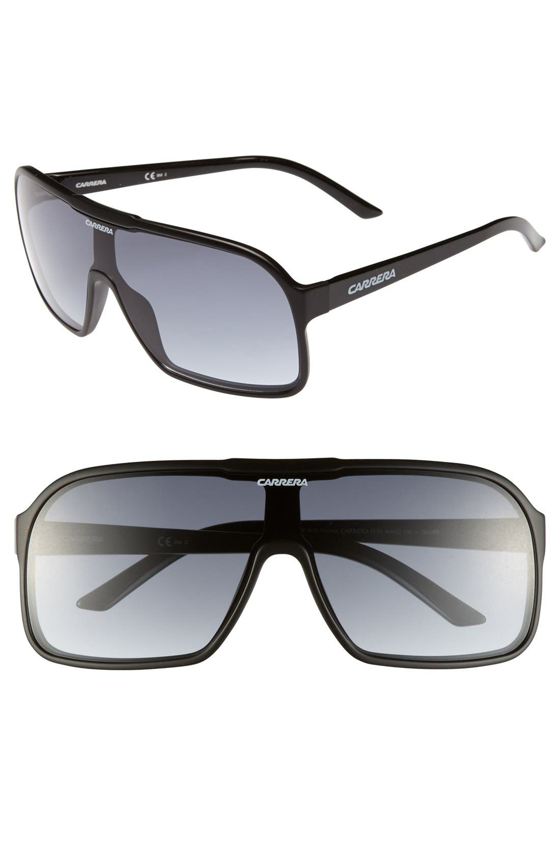 Main Image - Carrera Eyewear 99mm Aviator Sunglasses
