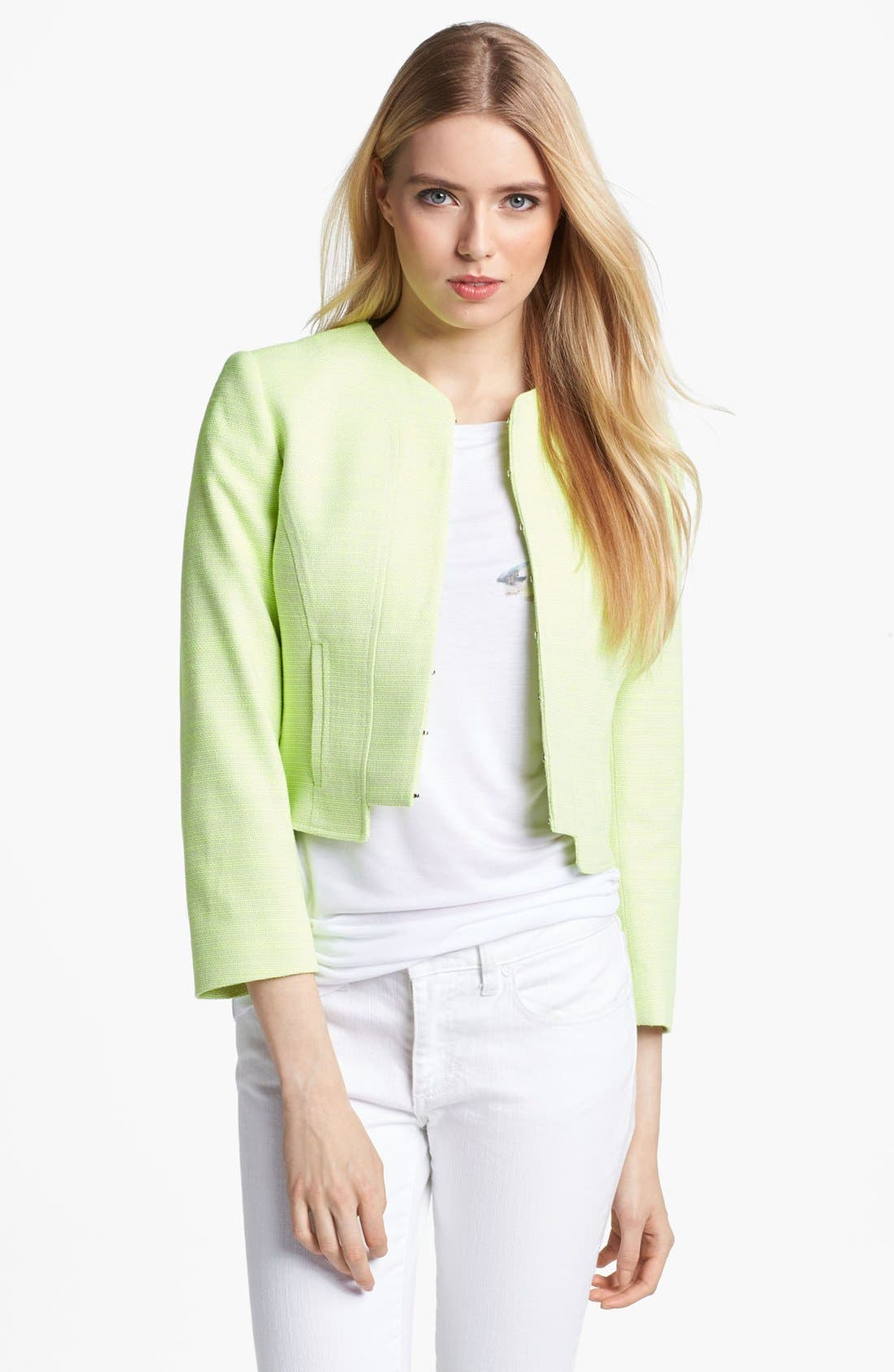 Alternate Image 1 Selected - Ted Baker London Crop Jacket
