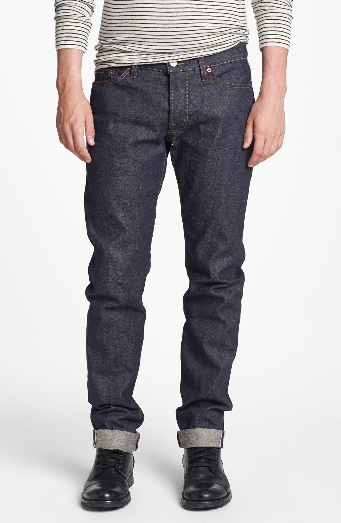Alternate Image 1 Selected - Vince Five-Pocket Selvedge Denim Jeans