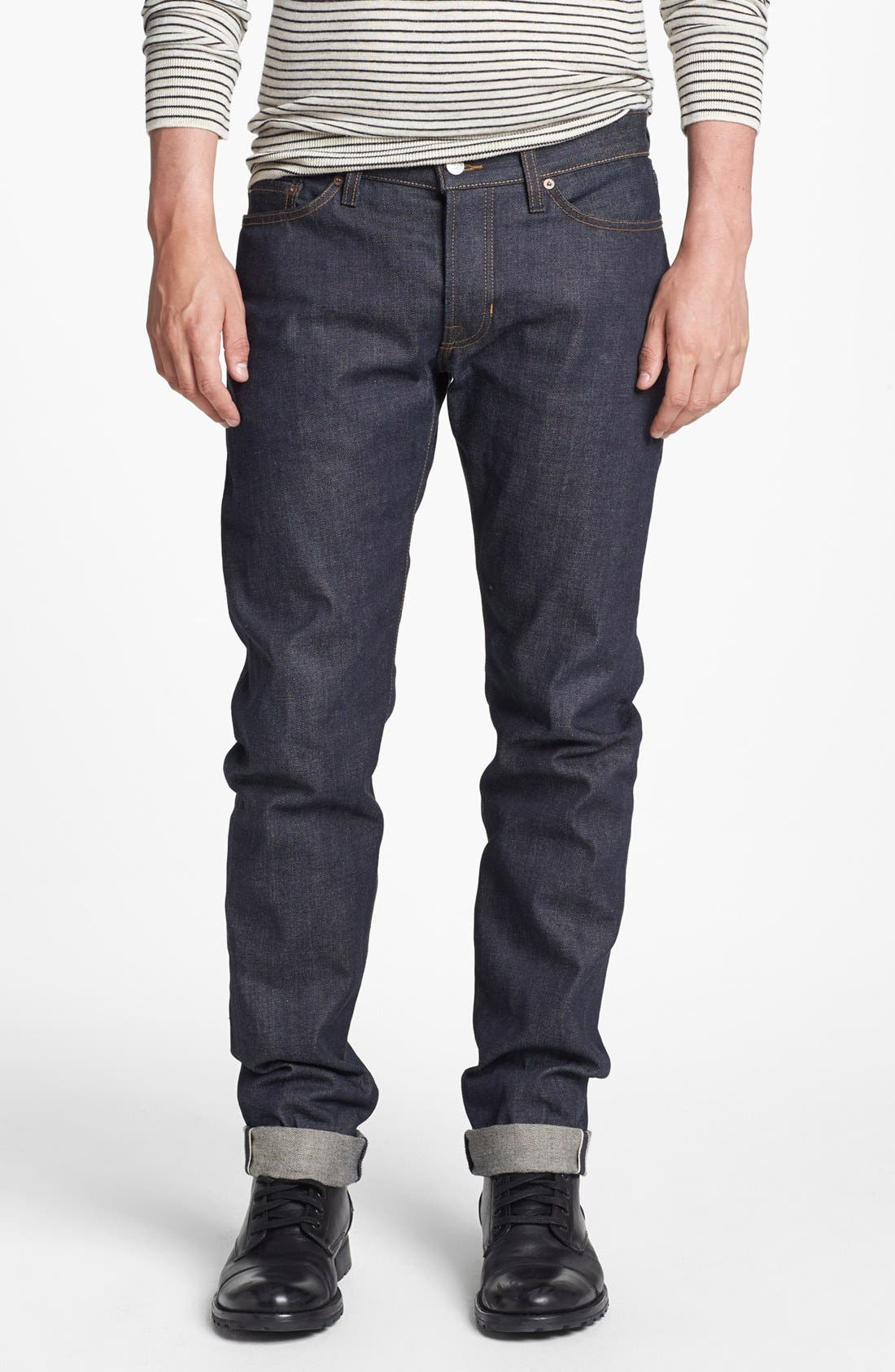 Main Image - Vince Five-Pocket Selvedge Denim Jeans
