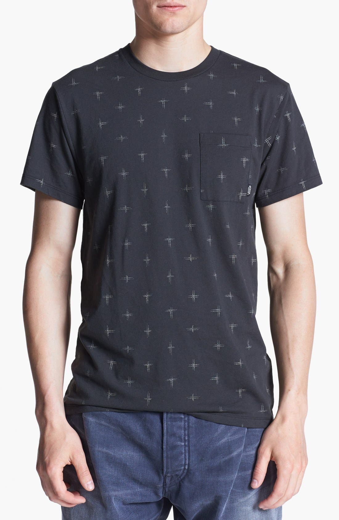 Alternate Image 1 Selected - Vans 'Noughts' Print T-Shirt