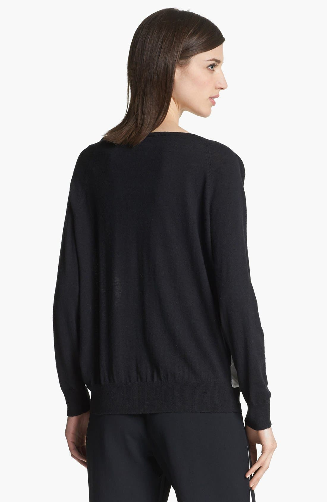 Alternate Image 2  - Joie 'Malena B.' Mixed Media Sweater