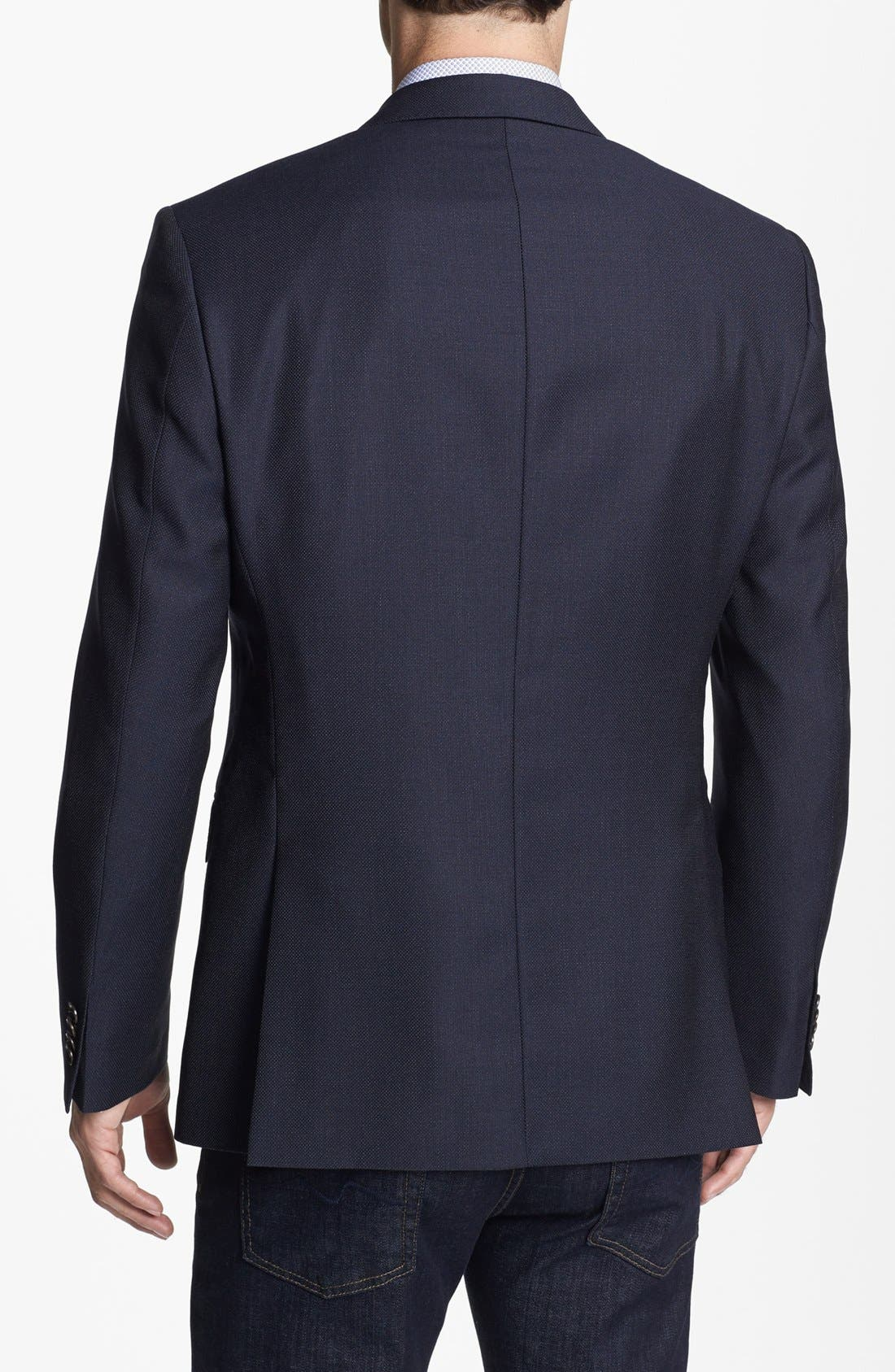 Alternate Image 3  - BOSS Black 'The Keys' Trim Fit Wool Blazer