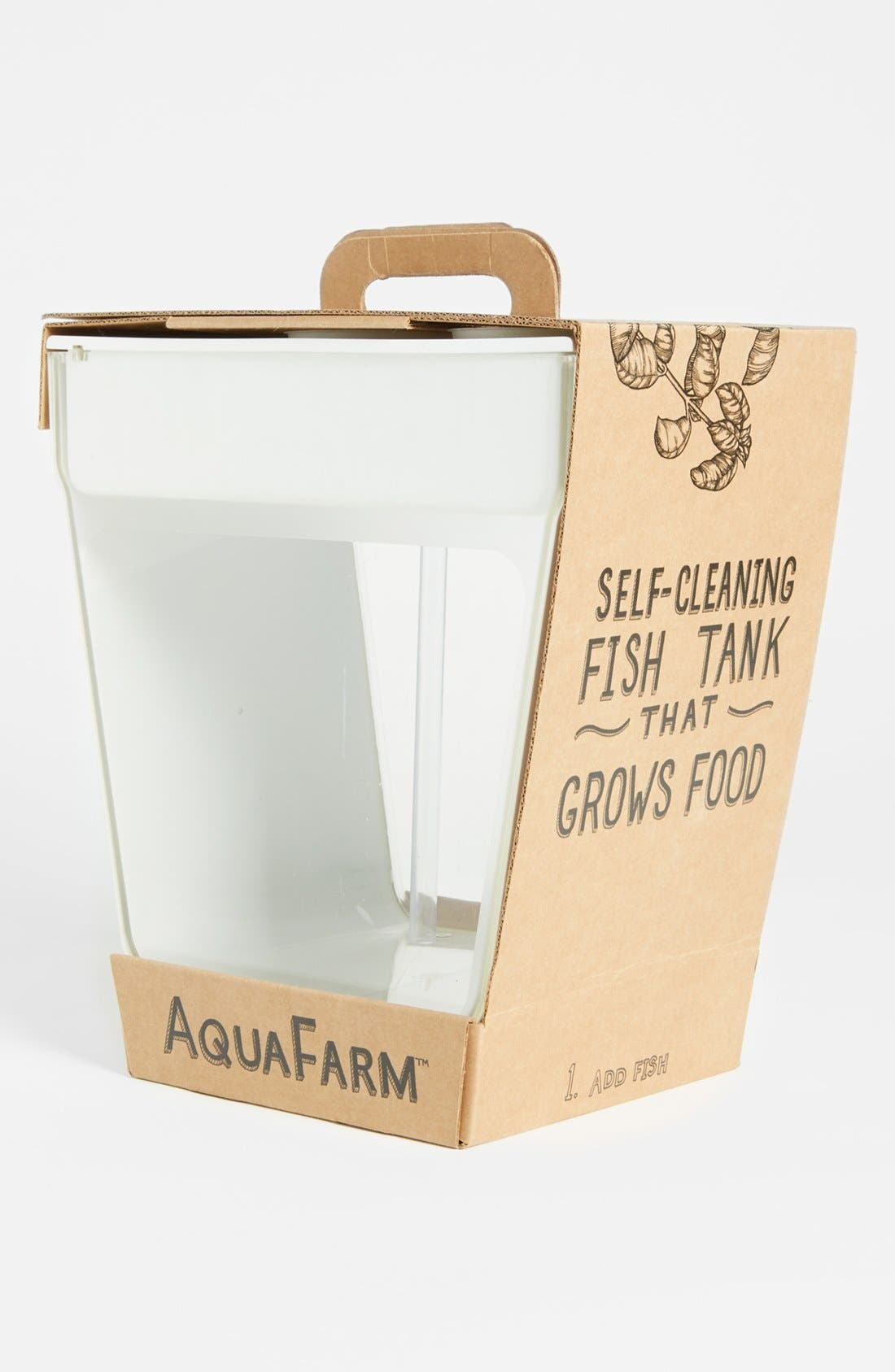 Alternate Image 2  - Back to the Roots 'Aquafarm' Aquaponic Indoor Garden with Self Cleaning Fish Tank