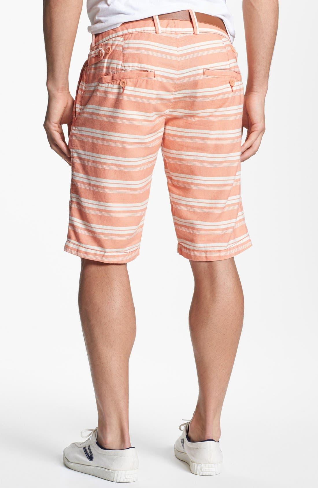 Alternate Image 2  - Jet Lag Stripe Shorts