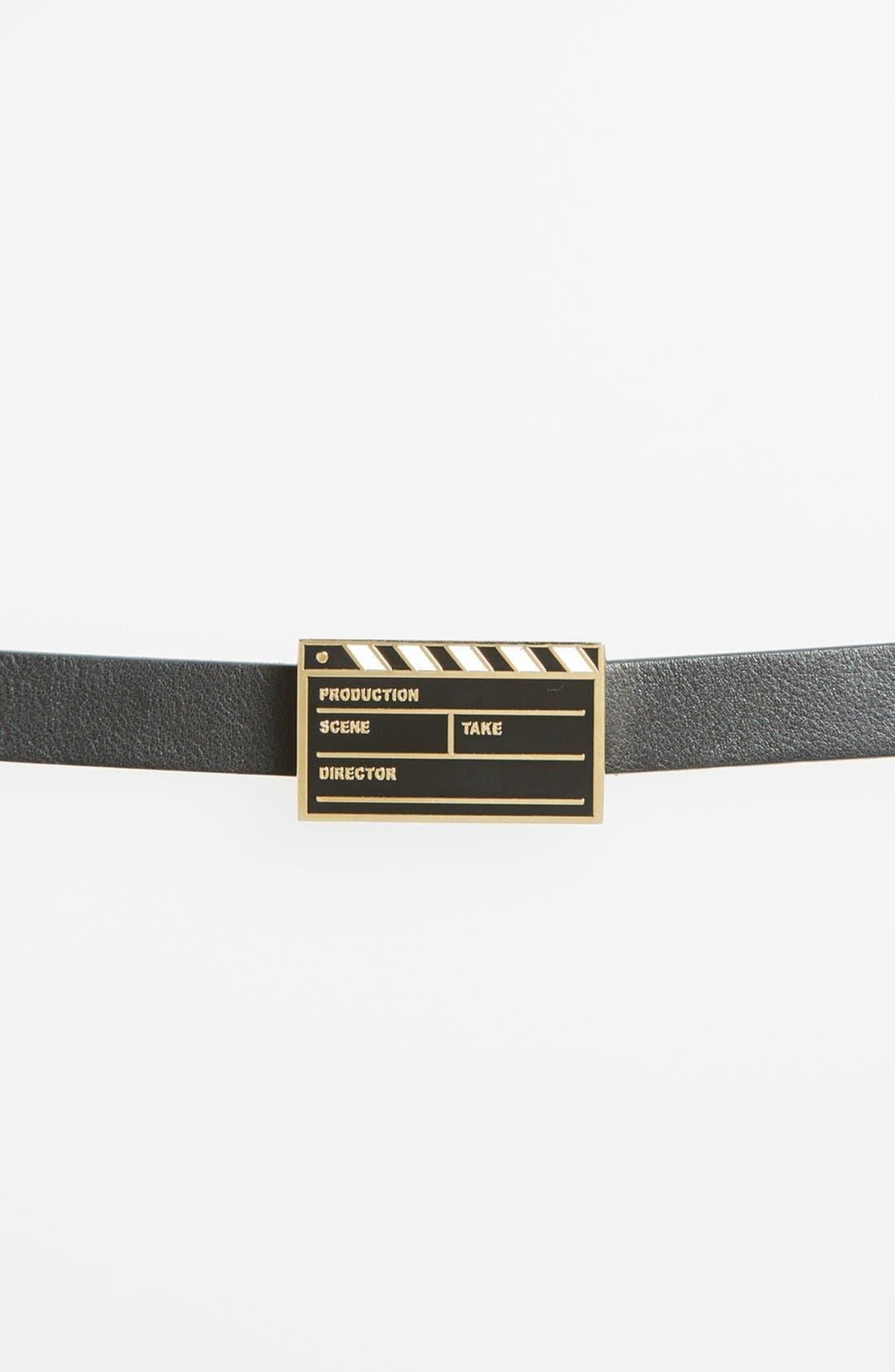 Alternate Image 2  - kate spade new york 'movie' leather belt